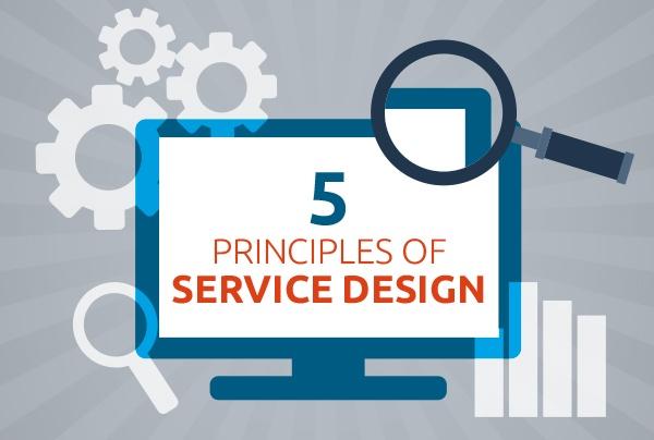 5 priciples service design