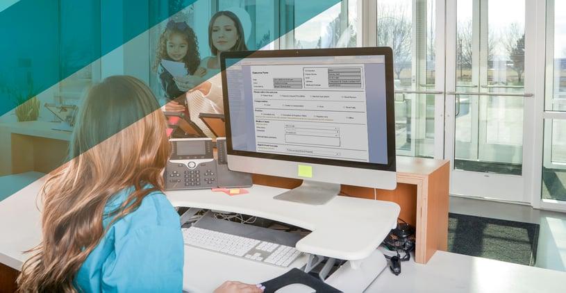 Outcome Form Receptionist blog2