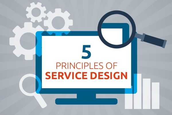 5 priciples service design